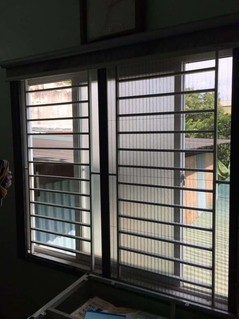 cửa lưới chống muỗi Hòa Phát