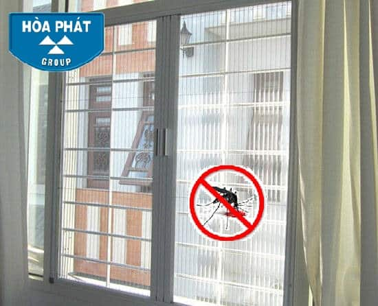 Cửa lưới chống muỗi ban công Hà Nội